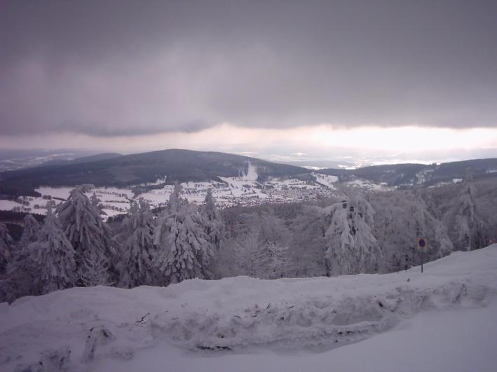 Rennsteig im Winter