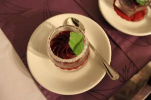 Menü in Bildern - Dessert