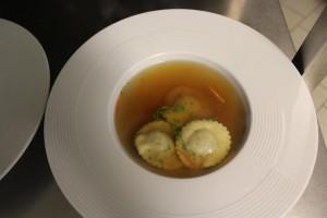 Menü in Bildern - Vorsuppe